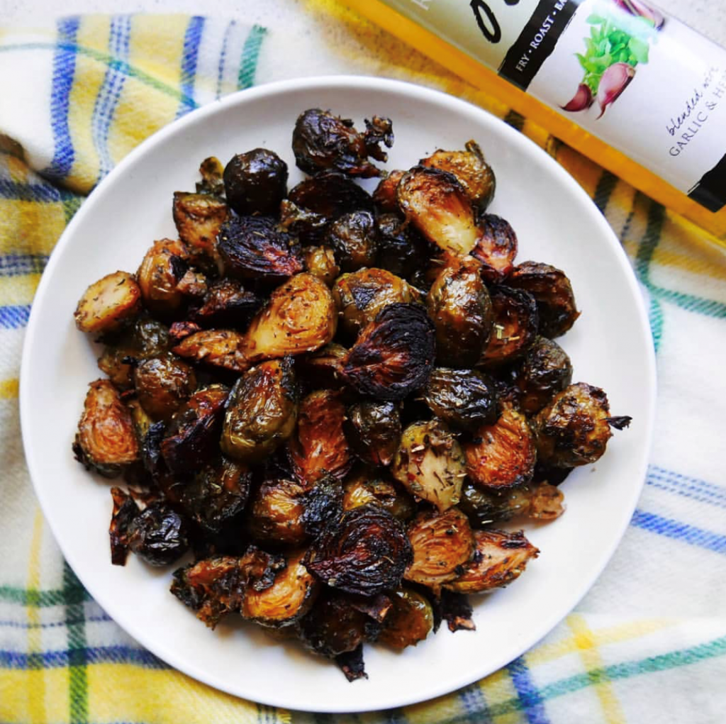 Kentish Recipes: Not Boring Brussels Sprouts