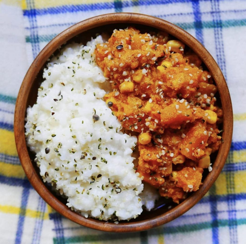 Kentish Recipes: Chickpea Butternut Squash Curry