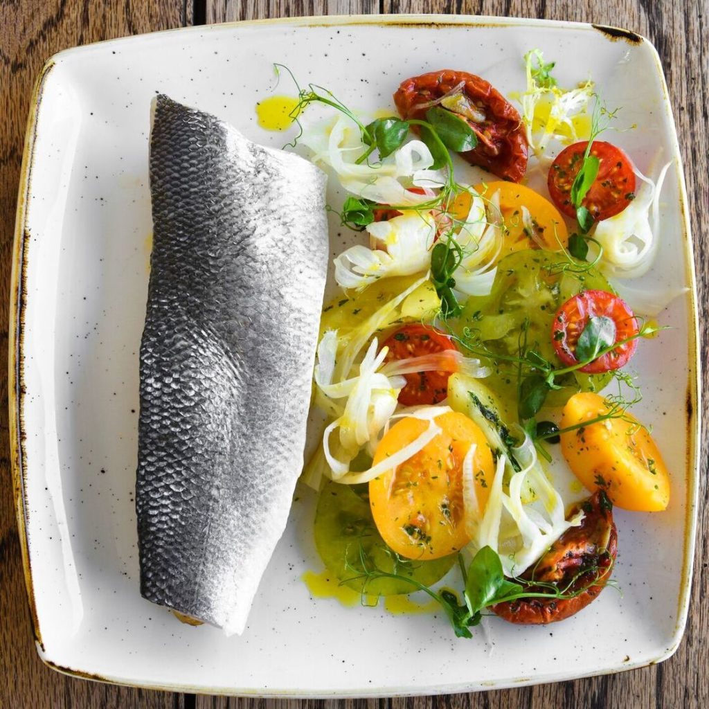 Kentish Recipes: Steamed Sea Bass In A Bag